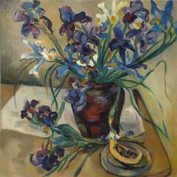 Irma Stern, Still life of Irises (£700k-1m)
