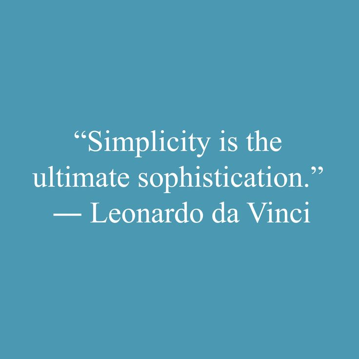 Best Simplicity Quotes Images On   Words Minimalism
