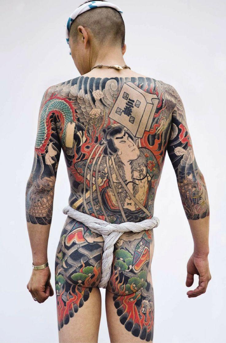 Traditional Japanese tattoo. © Photo by : Tatttooinjapan.com / Martin Hladik.