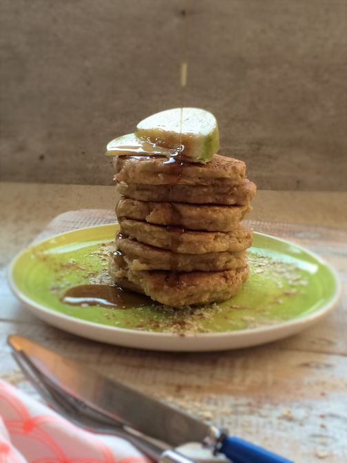 Havermout pannenkoekjes met appel #AfvallenUtrecht #Gewichtsconsulent_LeidscheRijn