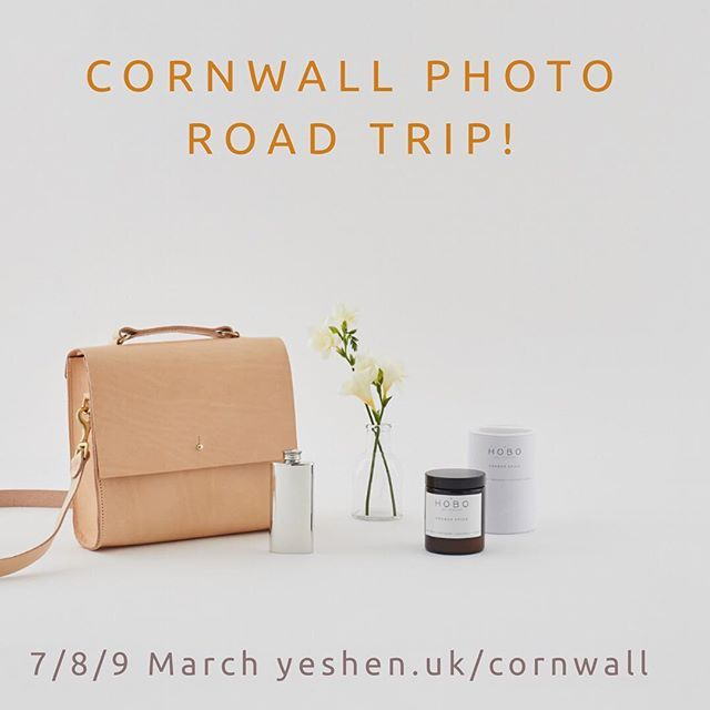 Im heading to Cornwall in a couple of weeks and have two spots left for location shoots 7-9 March. If youve always wanted a professional photo shoot at your studio or shop this is your chance. If youre at ETSY seller you can also book in for my product photography workshop at Circa 21 in Penzance on Sat 10 March. See link in profile for more or DM me. Image: @gracegordonldn