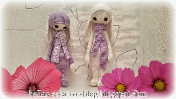 Bella´s Creative Blog - This dolls are handmade by Bella from a design and pattern by lalylala handmade, Lydia Tresselt / www.lalylala.com
