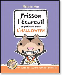 Frisson l'écureuil est fier de présenter son guide de l'Halloween, la journée la plus effrayante de l'année! À l'Halloween, on panique, on d...