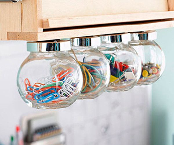 Simple storage DIY ideas for the home Storage ideas on the shelf