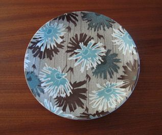MELODY in BLUE  1 x dinner plate $72.50