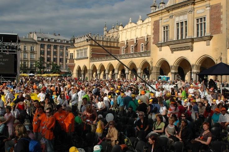 Festiwal Zaczarowanej Piosenki 2007 #zaczarowana publiczność w Krakowie