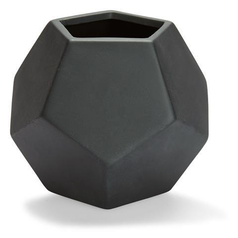 Geo Pot - Black