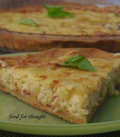 Μια τάρτα με ωραία εύθρυπτη ζύμη μπριζέ και πεντανόστιμη γέμιση μπορεί άνετα να πλαισιώσει το γιορτινό τραπέζι, να νοστιμ...