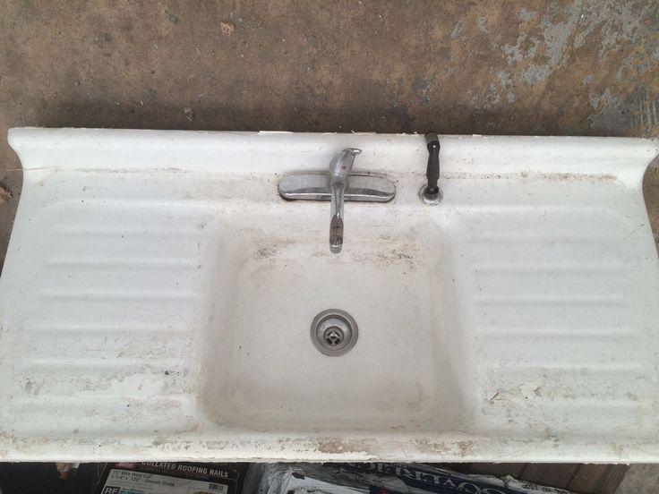 17 Best ideas about Cast Iron Farmhouse Sink on Pinterest