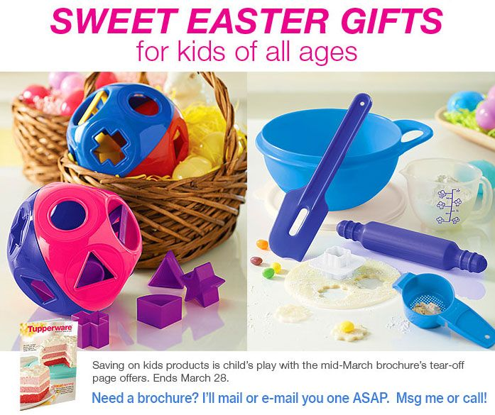 68 best tupperware sales images on pinterest tupperware tupperwares perfect easter gift for children negle Images