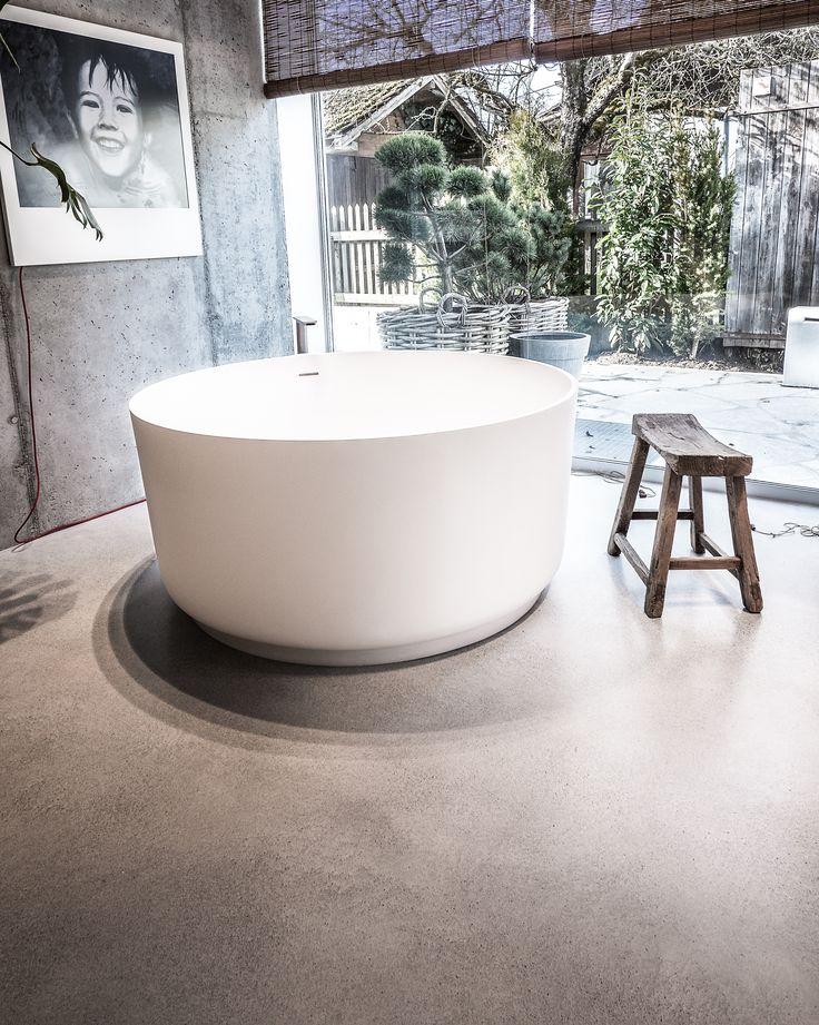 creafloor design estrich badezimmer sichtestrich. Black Bedroom Furniture Sets. Home Design Ideas