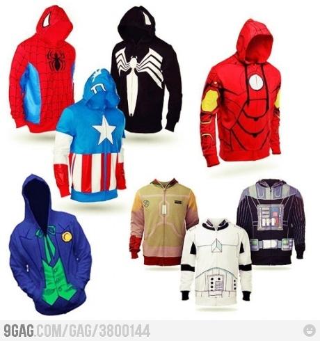 so awesome!The Joker, Geek, Captain America, Spiderman, Iron Man, Superhero Hoodie, Super Heroes, Ironman, Husband Gift