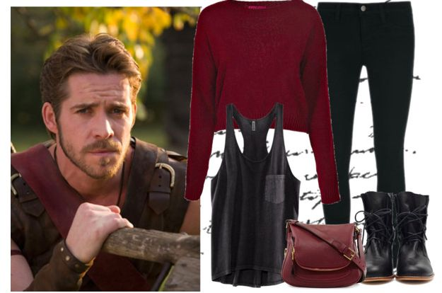 Day look inspired by Robin Hood from Once Upon a Time @thegirlbackstage