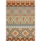United Weavers Tuscan Cream 5 ft. 3 in. x 7 ft. 6 in. Area Rug-940 27097 58 - The Home Depot