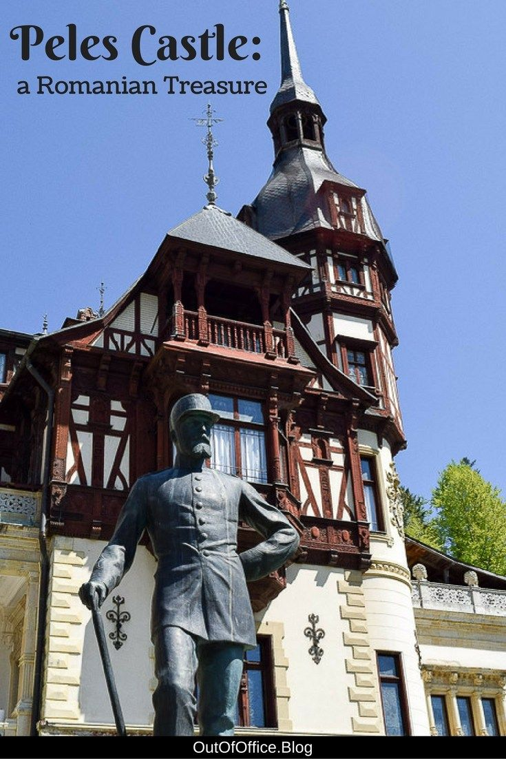 Peles Castle is a Romanian Treasure tucked in the Carpathian Mountains and a must visit for all Castle Hunters! #PelesCastle #Romania