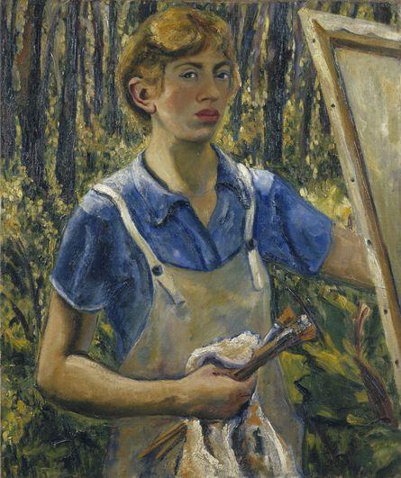 Lee Krasner  Self-Portrait quot  1930  Oil on Linen  Selfportrait  Art