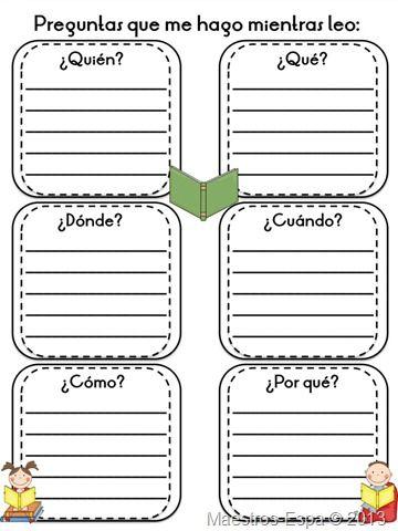 Área: Lectura de comprensión  Objetivo: Ayudar al niño a mejorar su comprensión lectora Estrategia: Uso de preguntas claves Actividad: El niño deberá identificar las preguntas claves dentro de la lectura que se le proporcione, marcando con diferentes colores la respuesta a cada una de las 6 preguntas Material: Lectura, colores, hoja de estímulo Tiempo: 20 min