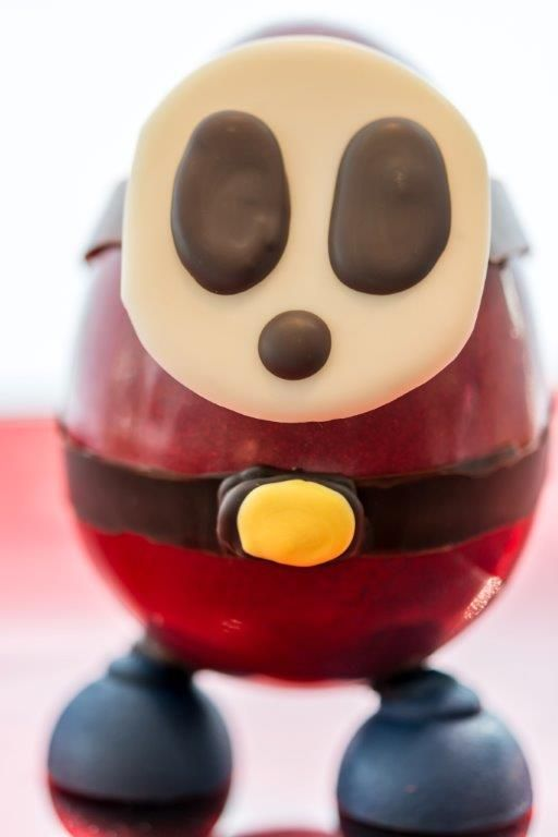 Comic character in chocolate www.gemchocolates.ca