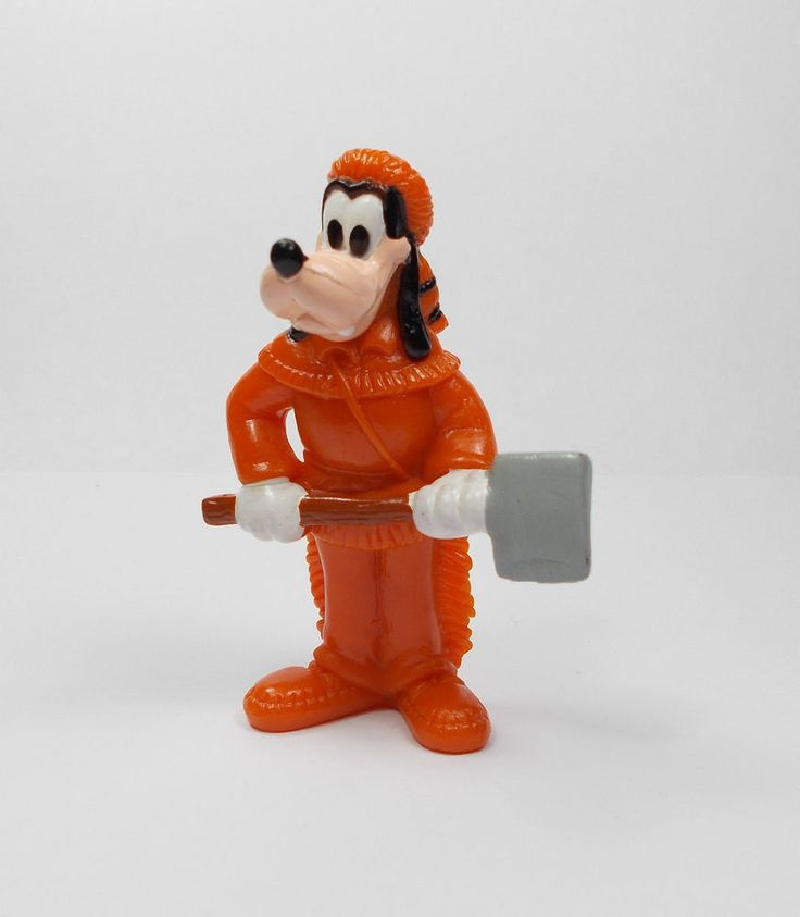 Mickey Mouse - Goofy Mini Toy Figure - Disney - Cake Topper