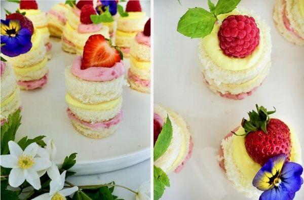 Minikakkuja kevään ja kesän juhliin - suolaista ja makeaa minikoossa!