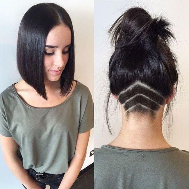 Undercut Bob Hairstyle