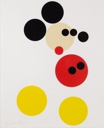 "Damien Hirst ""Mickey (Large)"" : Lot 14"