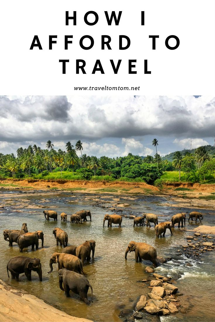 Read my story how I started to travel around the world a couple years ago. Let me inspire you to do the same! Save up money and pack your bags!