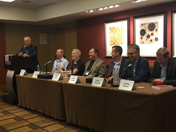 Michael on the Military Thrillers panel at Thrillerfest 2016 in New York City!