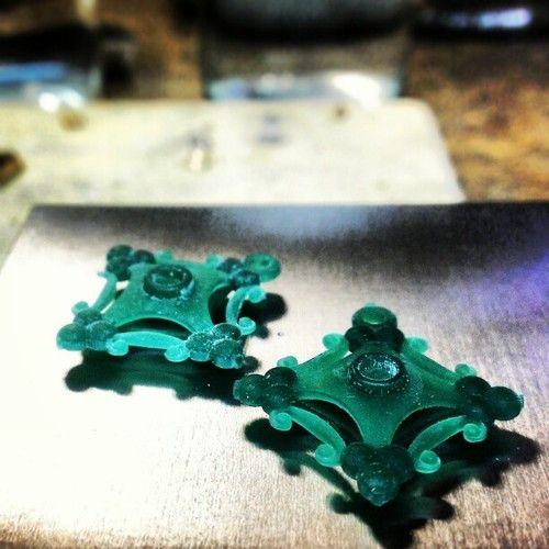 New design ideas for earrings #justinwellsjewelry #tw #jewelrydesign #instajewelrygroup #cadcam #matrix7 #jeweler