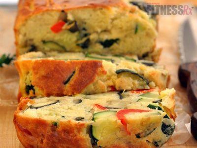 Veggie Loaf Cake -Simple 125-calorie summertime snack