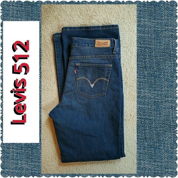 """Levis 512 Cute Levi Jeans in excellent condition. Purchased, removed the tags, but never worn. Inseam 31"""". Thank you and Happy Poshing!!!!! Levi's Jeans Boot Cut"""