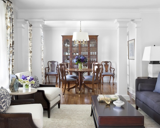 17 best images about dining room inspirations on pinterest - Pictures of columns in living room ...