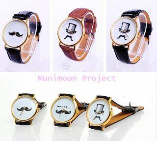 Munimoon Project: Relojes bigotes