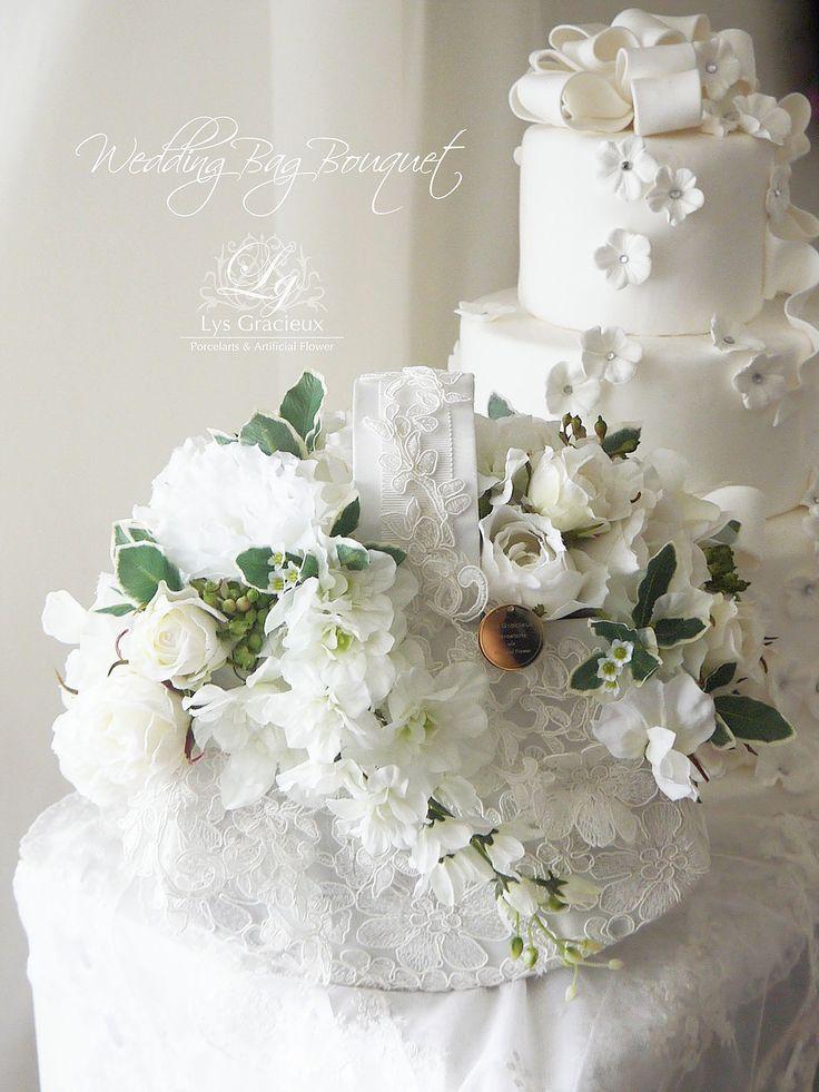 #Wedding#Purse#Bag#Bouquet#white#green #lace#roses#jasmine#Sapporo#ArtificialFlower #Best#Flower#Arrangement#Lys#Gracieux#リスグラシュ#ポーセラーツ#札幌#中央区#円山#アーティフィシャルフラワー#クレイ#ベストフラワーアレンジメント掲載#ウェディング#ホワイトルコ#グリーン#バッグブーケ#札幌#円山#lysgracieux#リスグラシュ#ポーセラーツ#クレイ#フラワー#ポーセリンアート#ハンドメイド#porcelainart#porcelarts#clay#flower#handmade#beautiful#