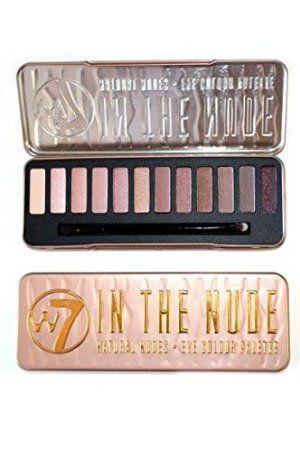 w7 In The Nude Palette Maquillage de 12 Ombres à Paupières Effet Nude de Star 141 g