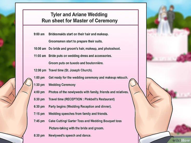 how to write mc wedding blog