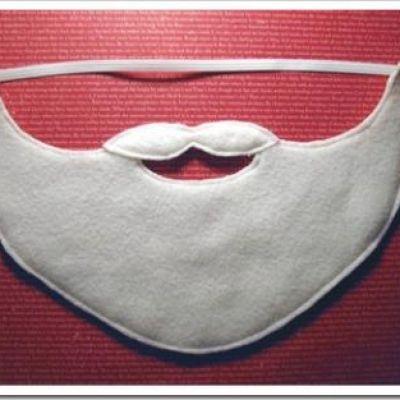 Felt Santa Beard {Free Pattern}