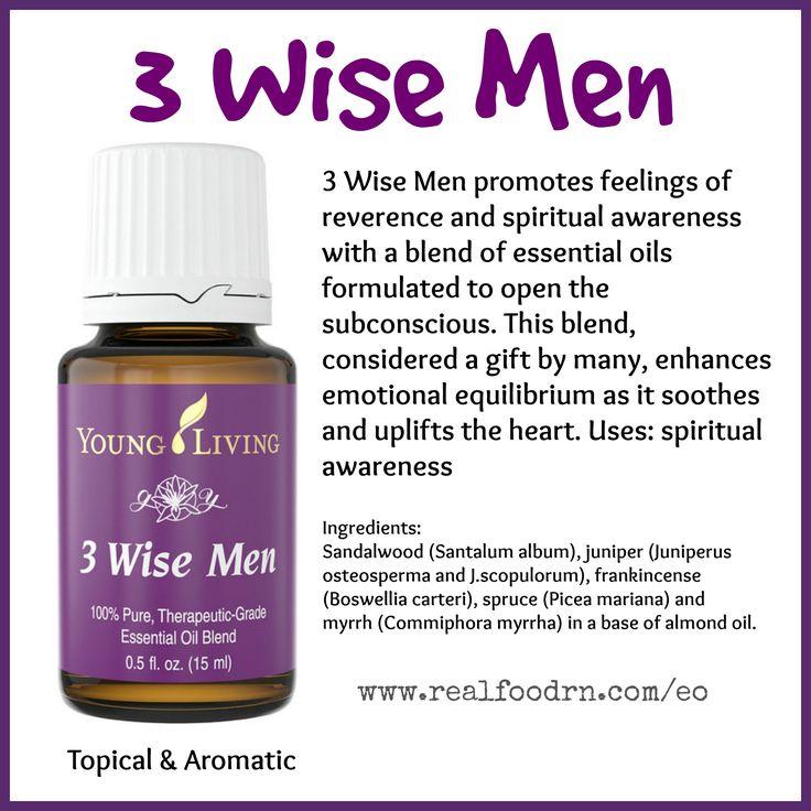3 Wise Men Essential Oil Enhance Emotional Equilibrium