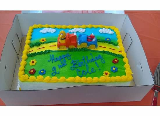 Stop And Shop Cake Elmo Birthday Party Pinterest