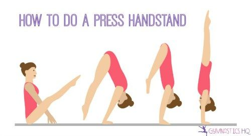 how to do a handstand hold