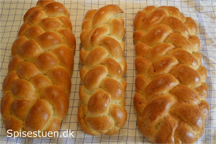 Om at flette brød