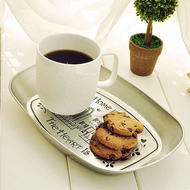 4 шт./лот Zakka старинные поднос ретро конфеты блюда сушат торт блюда рождество посуда домашнего декора купить на AliExpress