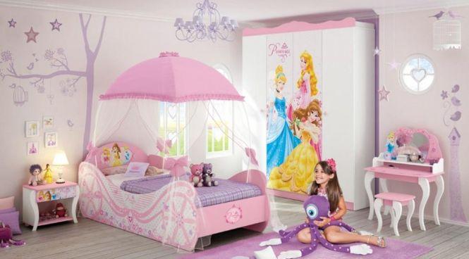 Quarto de princesa: Decoração delicada para quarto de menina