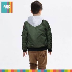 Shop Now! This Pilot jacket in black and army green will be toasty warm this Autumn/Winter. Available in age 4-14 years.