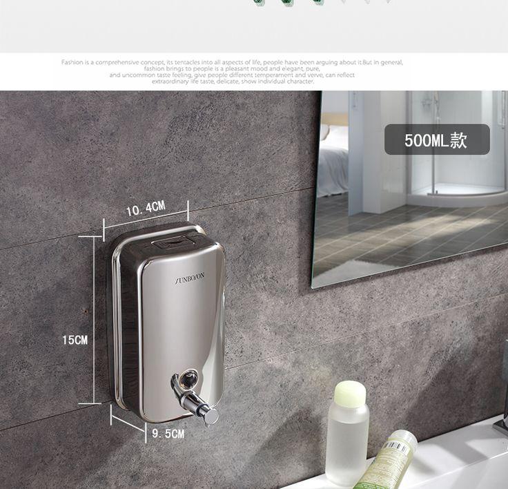 Alibaba グループ | AliExpress.comの 液体石鹸ディスペンサー からの 新たにステンレススチールソープディスペンサーのバスルーム完成した液体ソープディスペンサーボックス 製品の説明ポップアップ詰め替え穴とカバー色: 銀壁にふさわしい非常に耐久性すべてが 中の 新た に ステンレス鋼終え液体石鹸ディスペンサー浴室ソープ ディスペンサー ボックス
