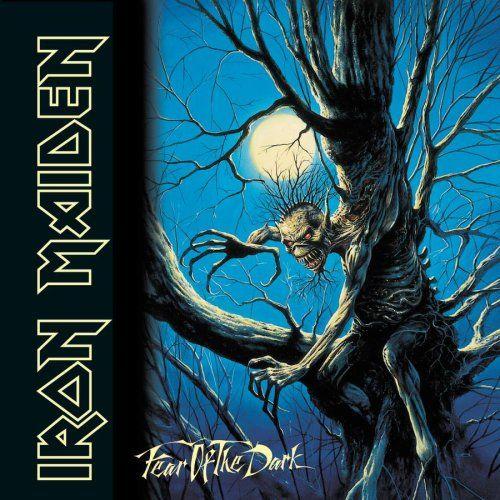 Iron Maiden Album Covers | IRON MAIDEN - Fear of the Dark Album