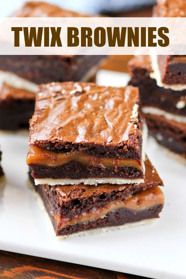 Twix brownies are a fun take on a favorite candy bar. Whip up a batch the next…