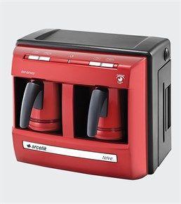 Arçelik K 3190 P Lal Çiftli Türk Kahve Makinesi