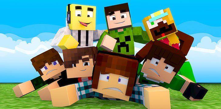 Minecraft Pocket Edition App Com Imagens Festa Infantil