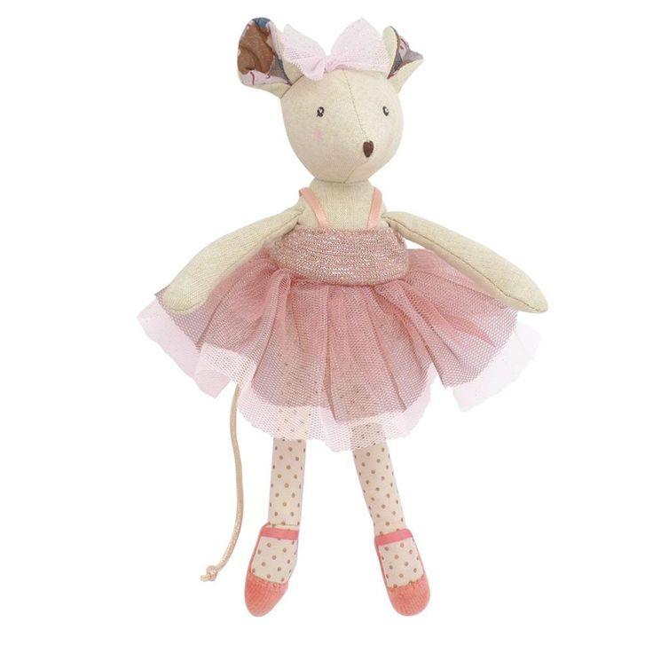 Moulin Roty Il Etait Une Fois Prima Ballerina Mouse